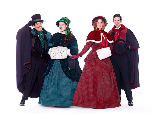 Definitely Dickens Holiday Carolers cool ideas event entertainment contact www.wendoevents.com
