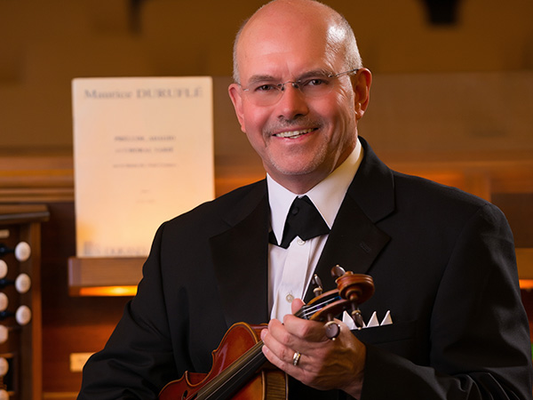 Norman Hughes violinist - www.wendoevents.com