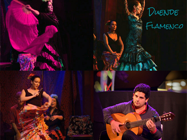 Duende Flamenco Latin Salsa Flamenco musicians entertainers - wendoevents.com