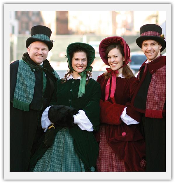 Definitely Dickens Christmas Carolers - wendoevents.com