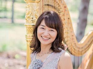 Tomoko Sato harpist - www.wendoevents.com