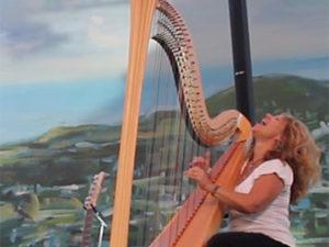Lori Andrews Jazz Harp www.wendevents.com
