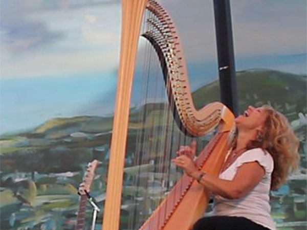 Lori Andrews Jazz harp entertainment www.wendevents.com