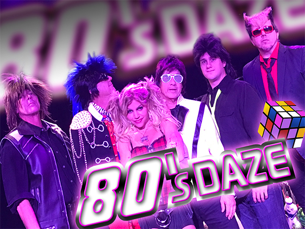 80s Daze band retro musical entertainment - wendoevents.com