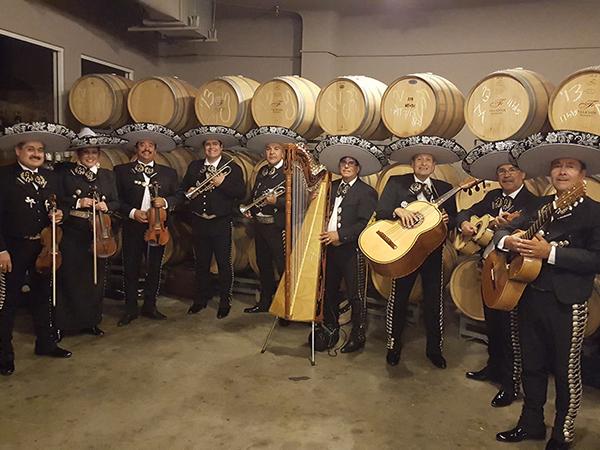 Mariachis celebratory music
